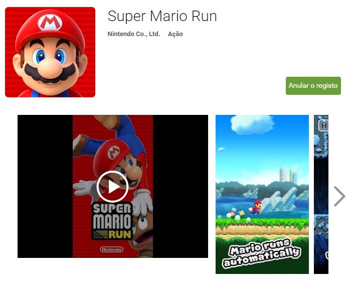 super mario run no android