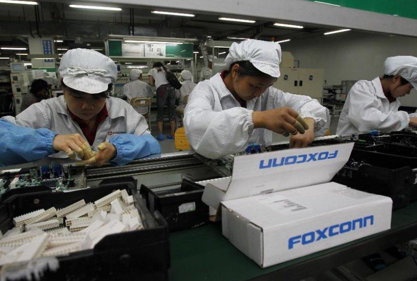 foxconn fabrica