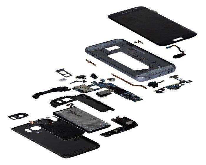 componentes de smartphone