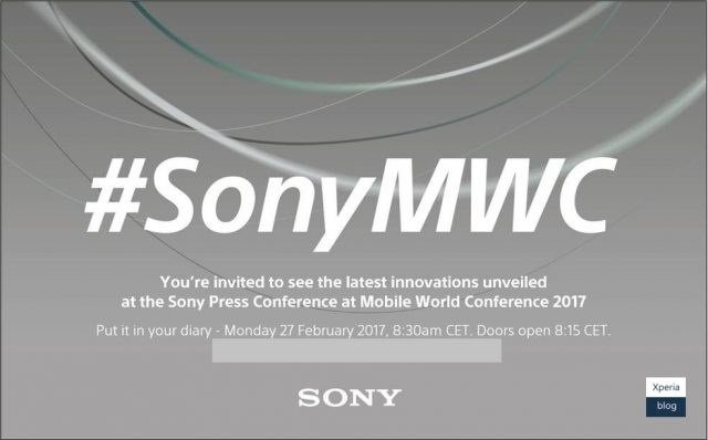 sony na MOBILE WORLD CONGRESS