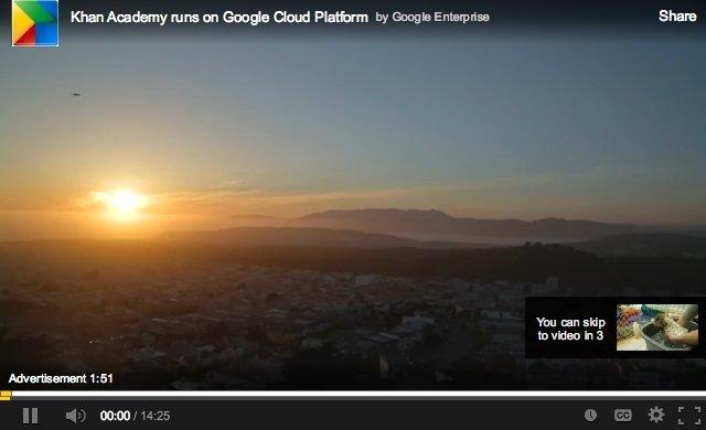 youtube anúncio publicidade