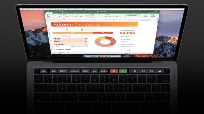 office touch bar