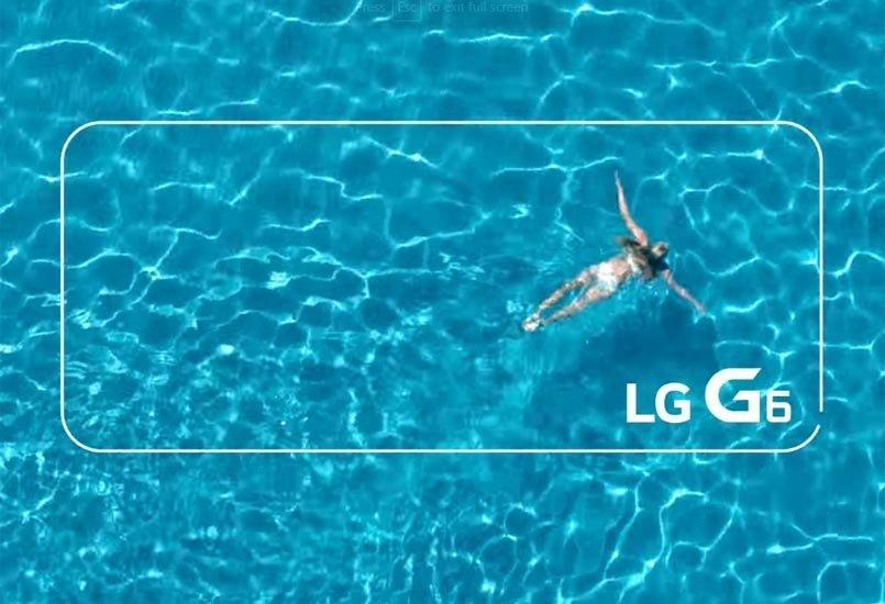 Consegue o LG G6 resistir a 30 minutos sobre água?