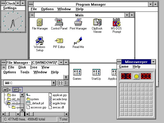 windows 3.10
