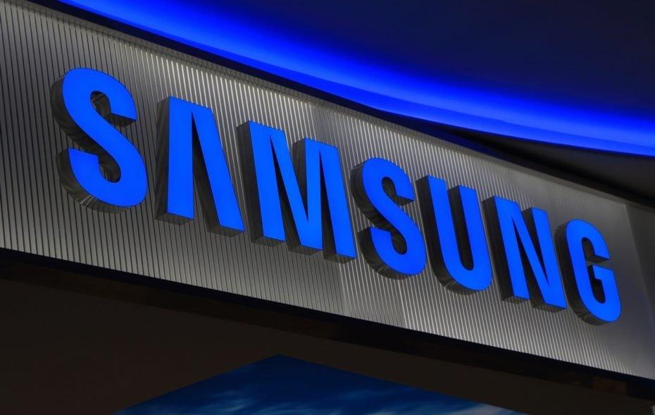 Samsung logótipo