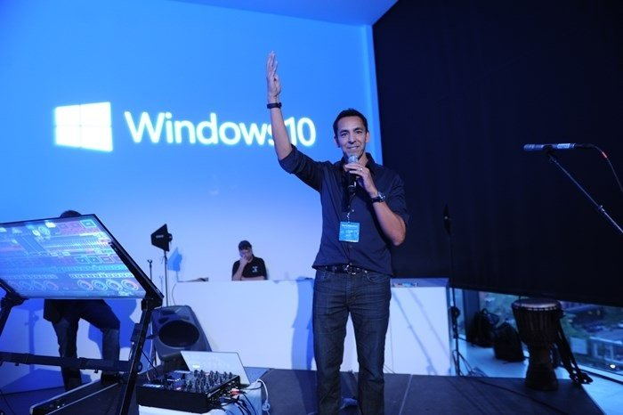 windows 10 evento