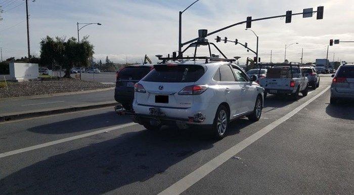 veículo autónomo da Apple