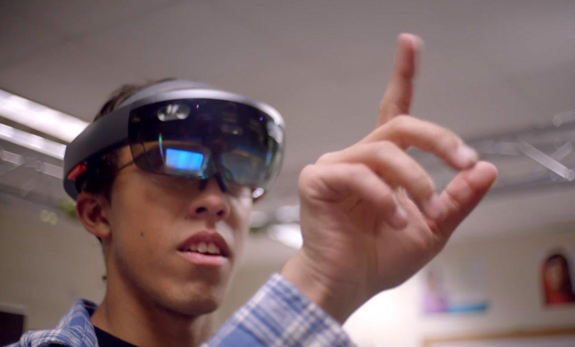 realidade virtual microsoft