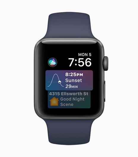 apple watchos siri