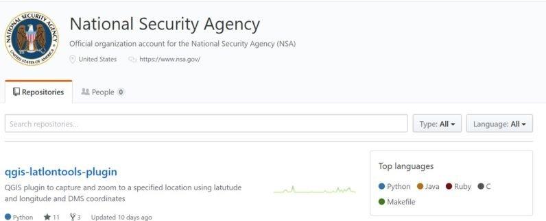 NSA no github
