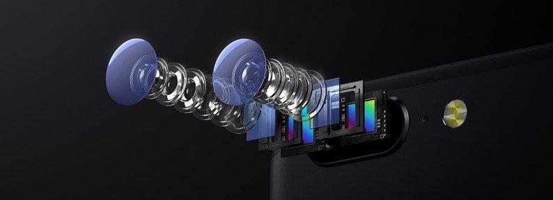 sistema de cameras do OnePlus 5