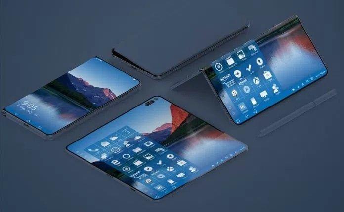 microsoft smartphone dobrável