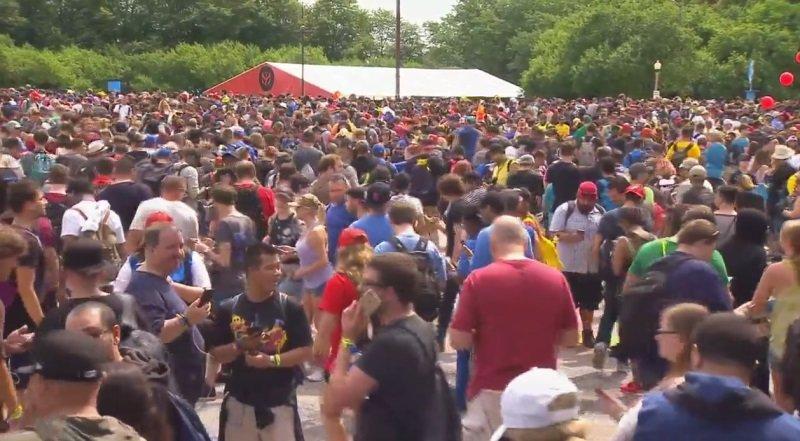 Pokémon go fest evento