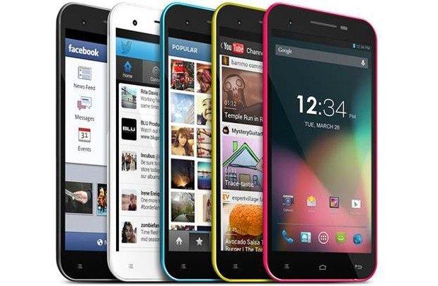 smartphones blu