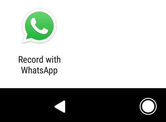 gravação de áudio whatsapp