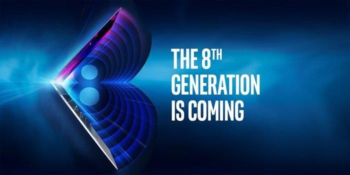intel 8 geração