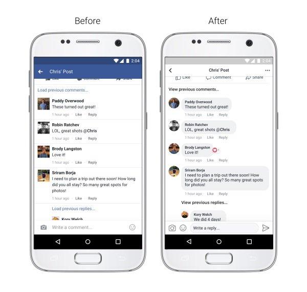 novo design facebook