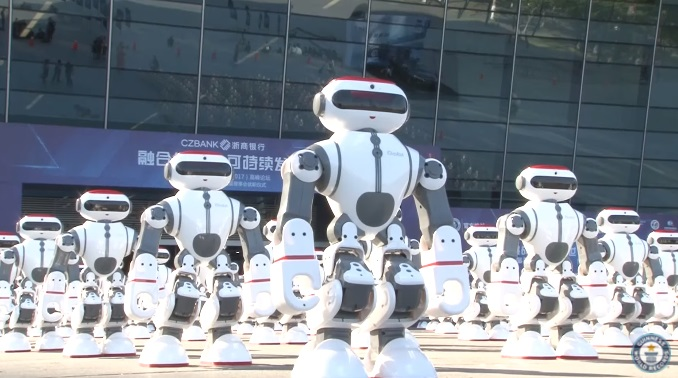 robots dança
