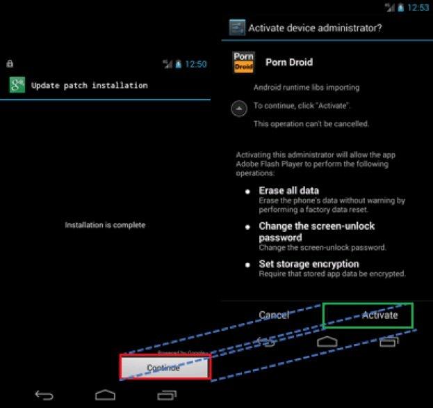 Criminosos usam brecha do Android para que usuário aceite baixar apps sem saber