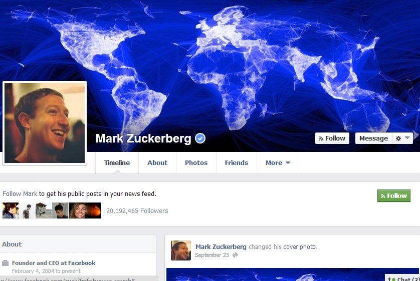 Facebook mark