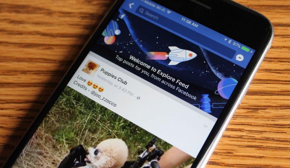 facebook aplicação
