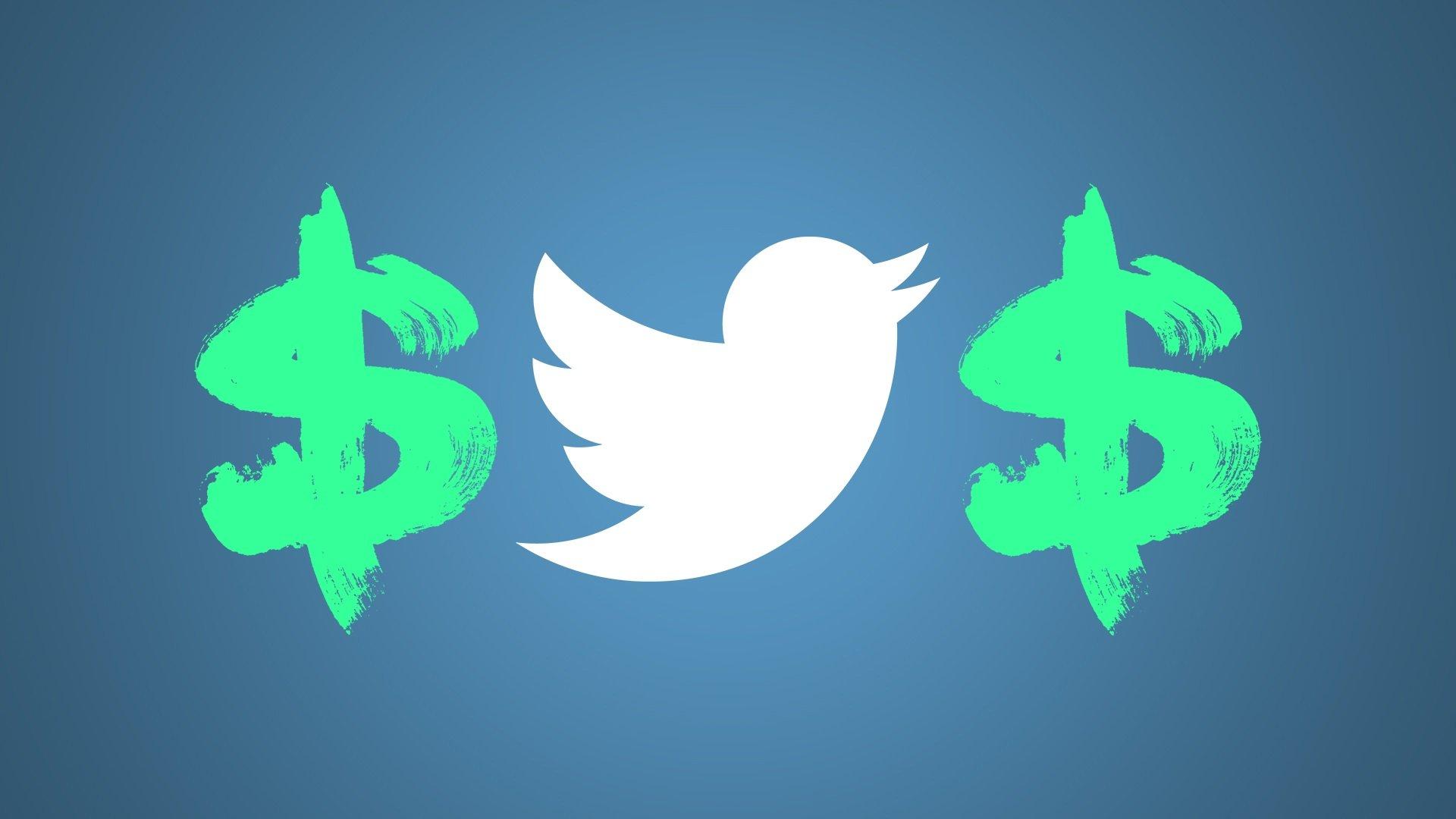 twitter dinheiro