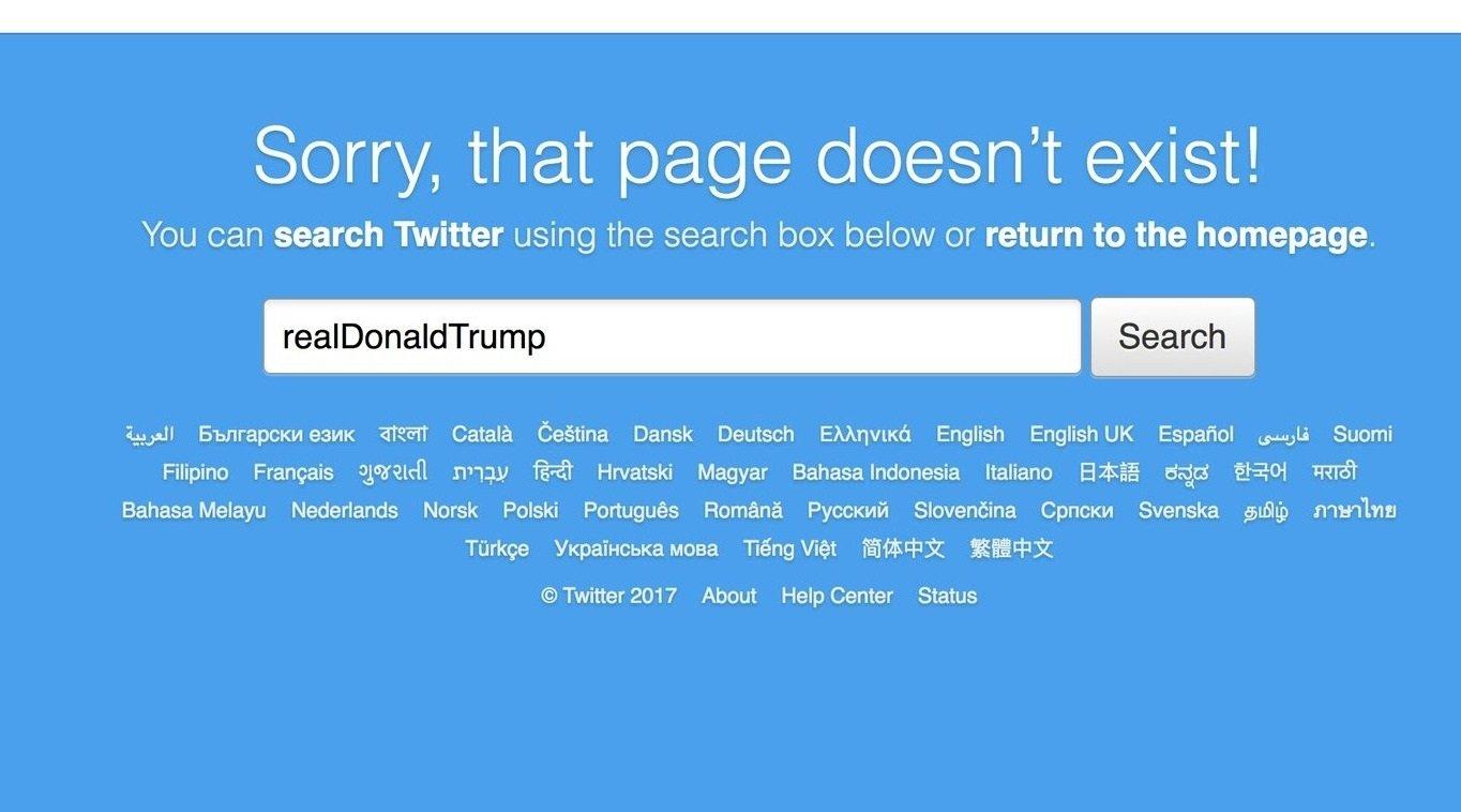 twitter pesquisa donald trump