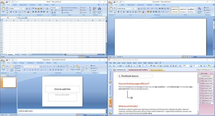 imagem office 2007