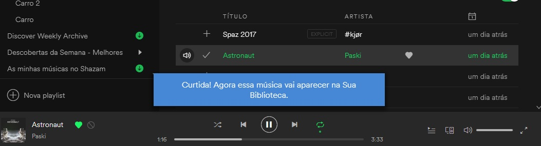 like do spotify