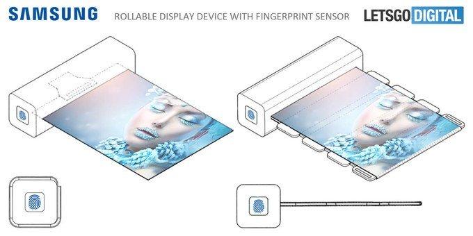 patente samsung smartphone dobrável