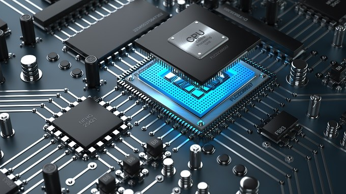 processador motherboard