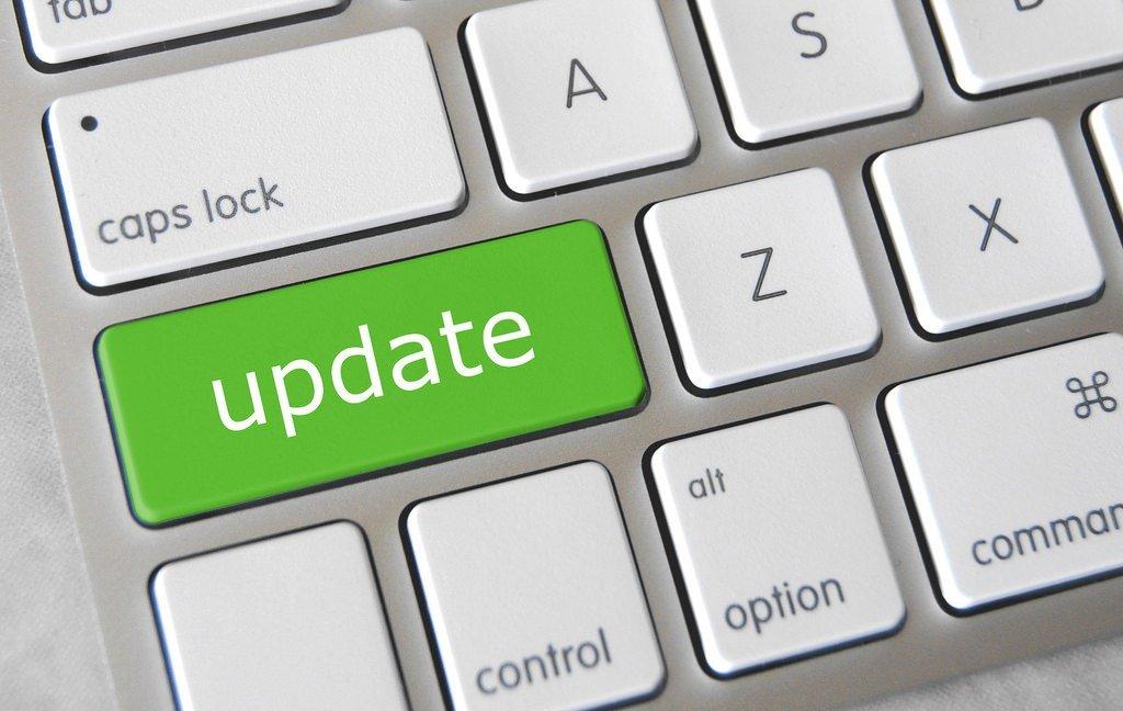 atualizar tecla teclado