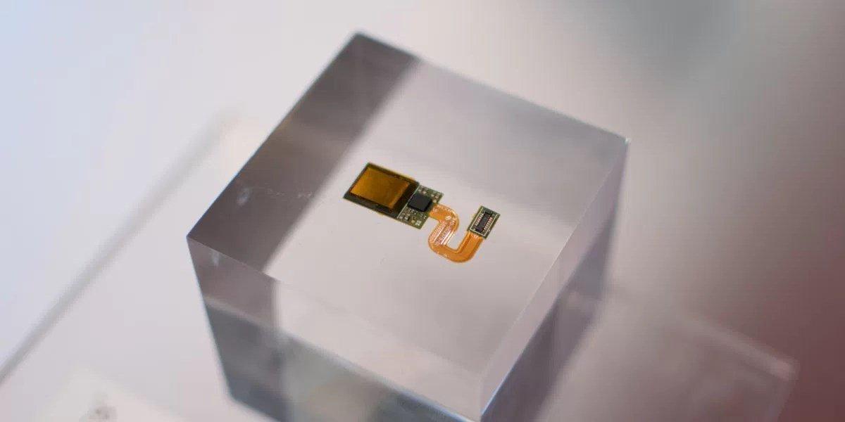 sensor visivel