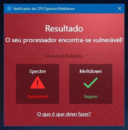 ataque intel verificação