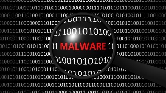 malware imagem fundo escuro