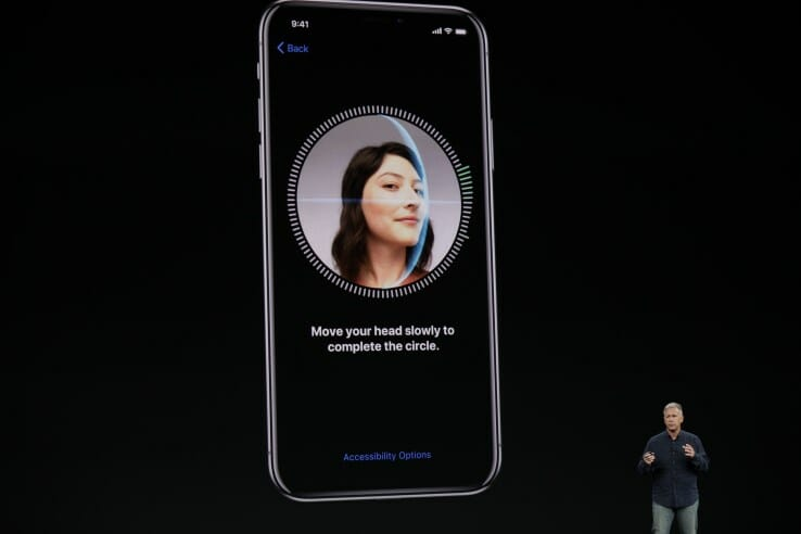 face id apple iphone