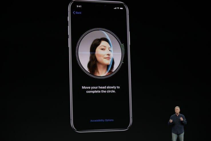 face id apple iphone
