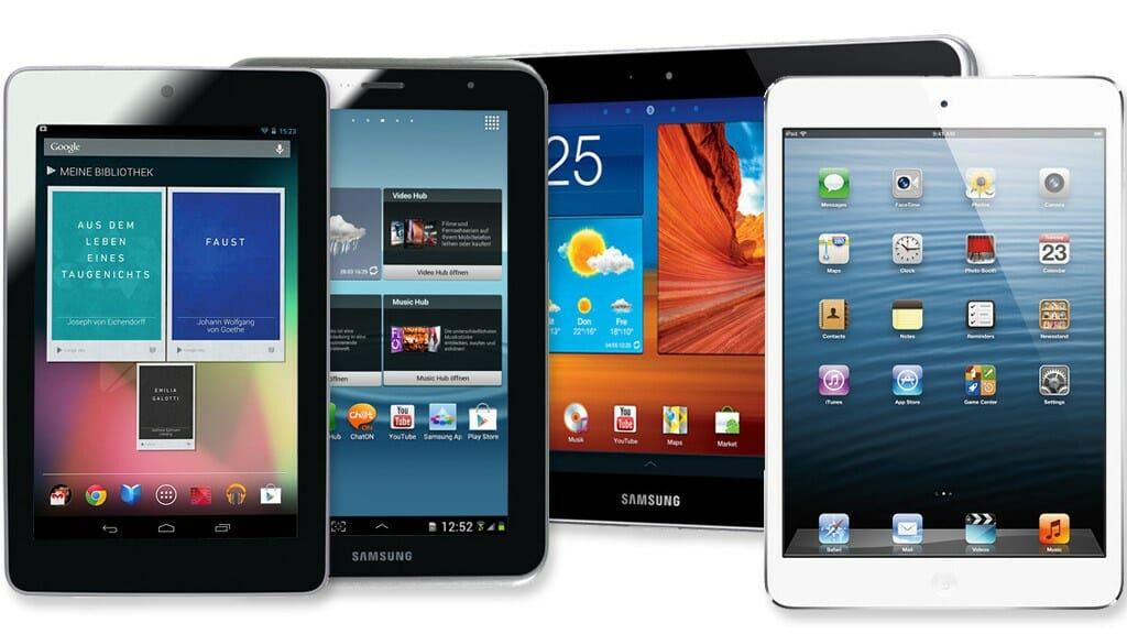 tablets mercado apple samsung