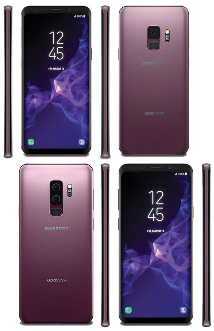 samsung galaxy s9 design
