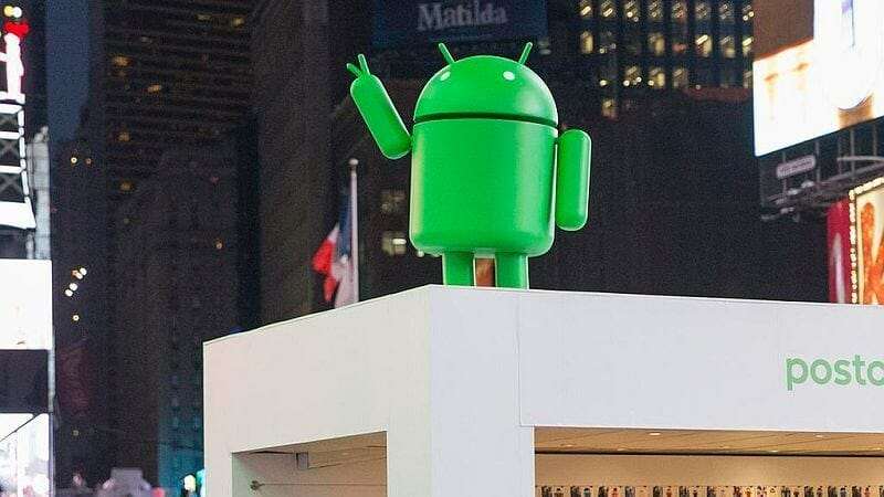 android google estatua
