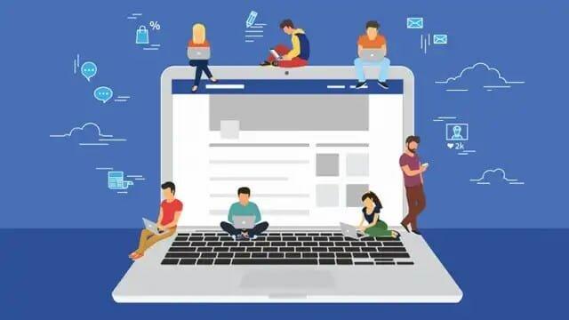facebook jovens computador