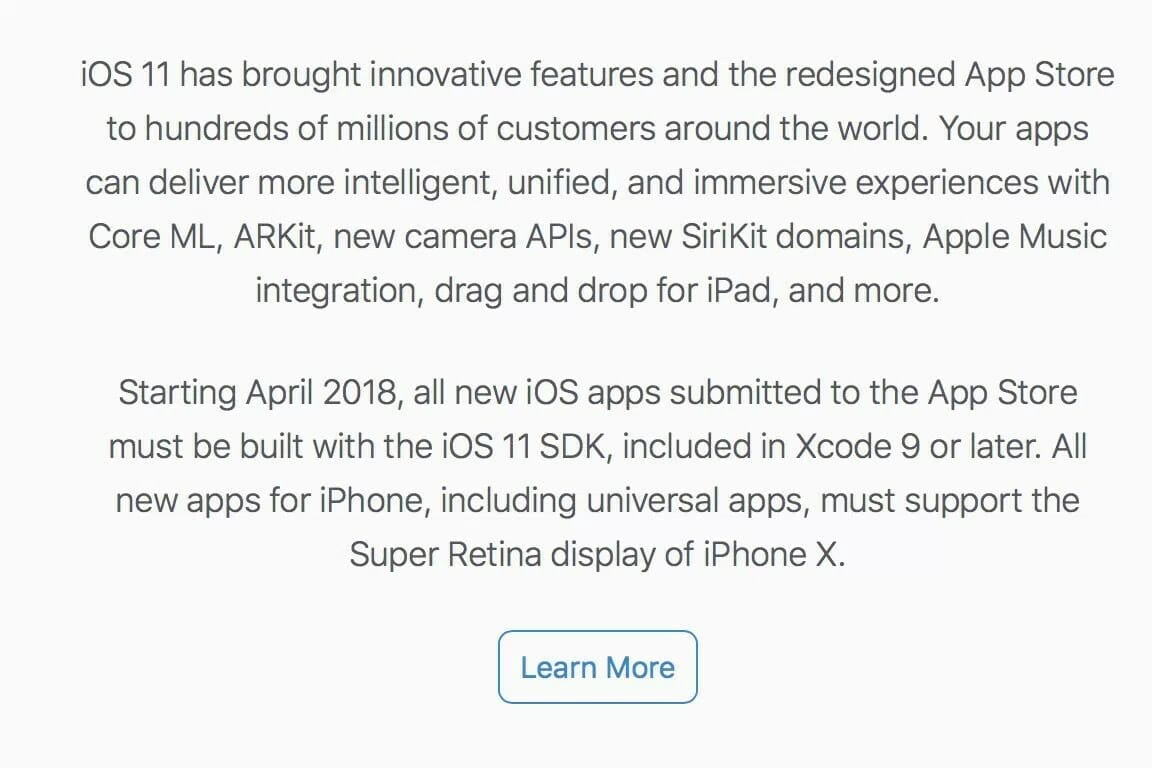 alerta apple novas apps