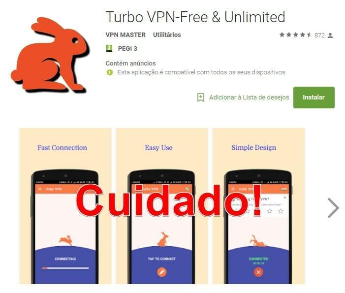 free vpn aplicação cuidado