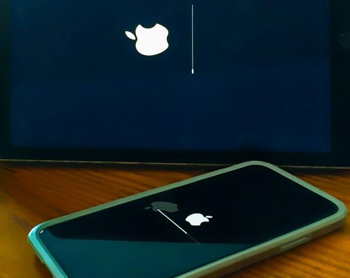 atualização ios apple