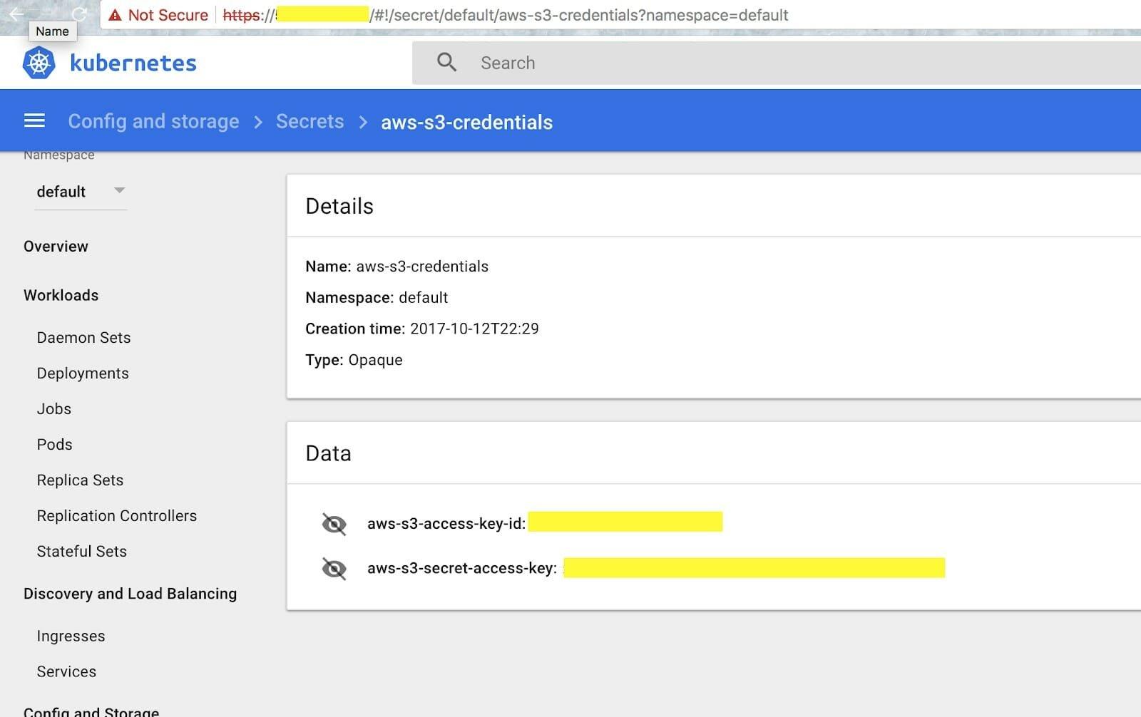 exemplo aplicação servidor cloud