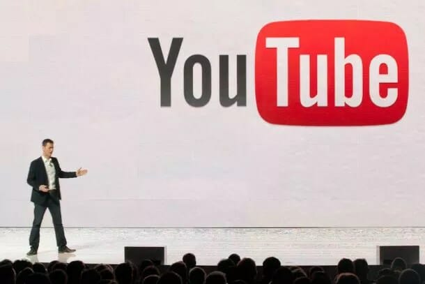 youtube logo evento