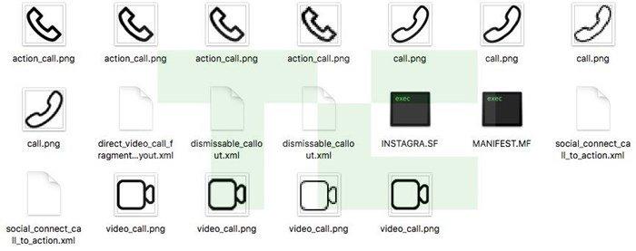 Ícones da aplicação