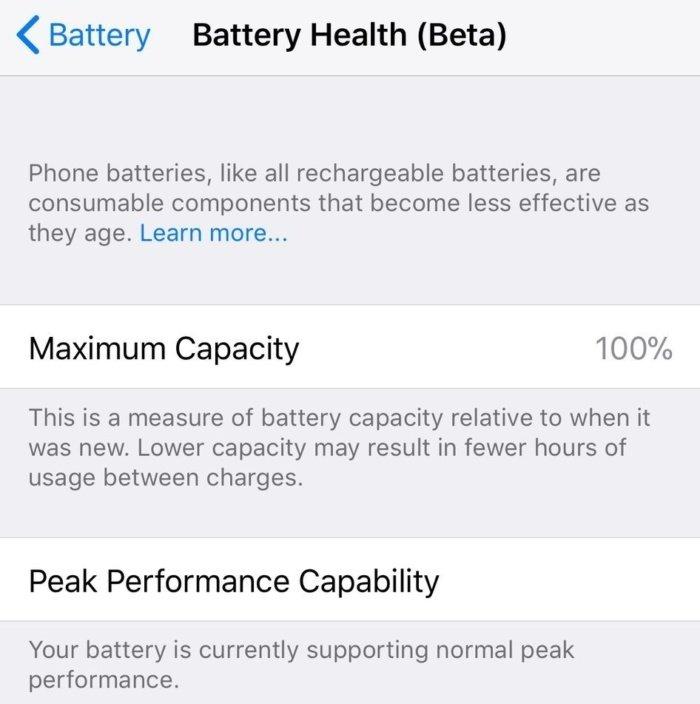 bateria ios