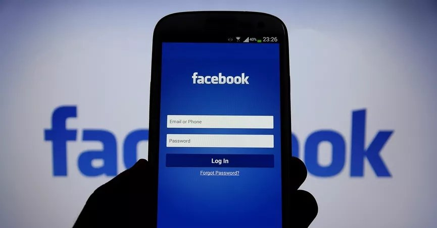 facebook telemovel smartphone login