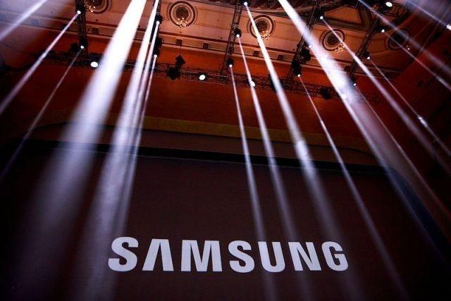 samsung logo palco